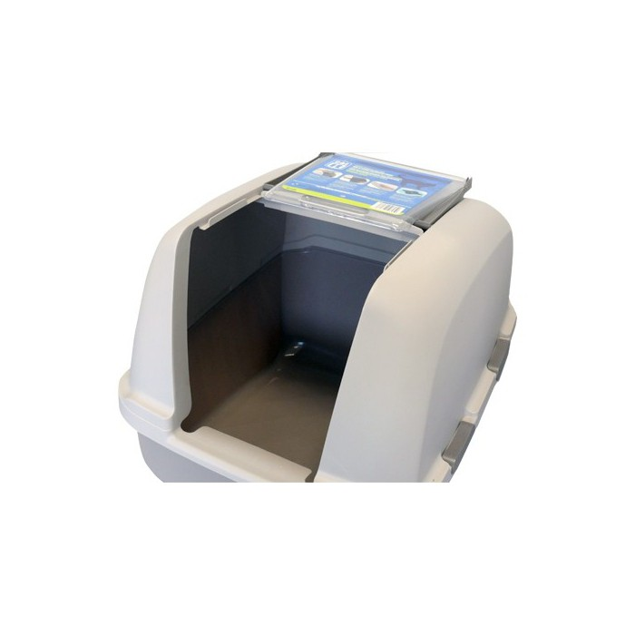 Litière & compagnie - Maison de toilette nouvelle génération XL pour chats