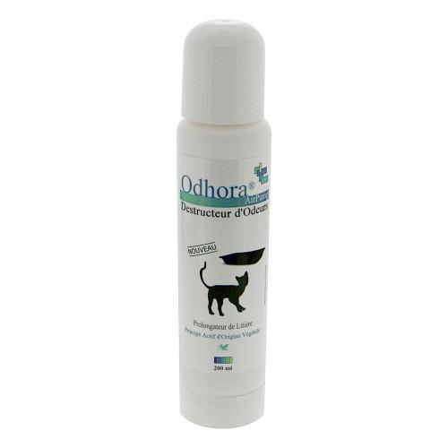 Litière & compagnie - Destructeur d'odeurs d'urine pour litière en spray pour chats