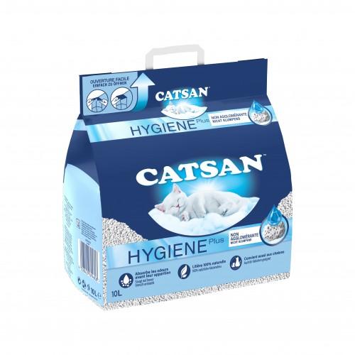 Litière & compagnie - Litière Catsan® Hygiène Plus pour chats