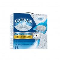 Litière minérale pour chat - Litière Catsan® Active Fresh