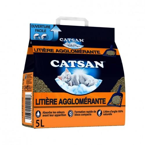Litière & compagnie - Litière Catsan® Agglomérante Plus pour chats