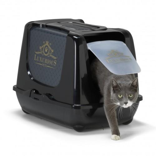 Litière & compagnie - Maison de toilette Luxurious pour chats