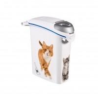 Container à litière pour chat - Conteneur à litière 23L Curver