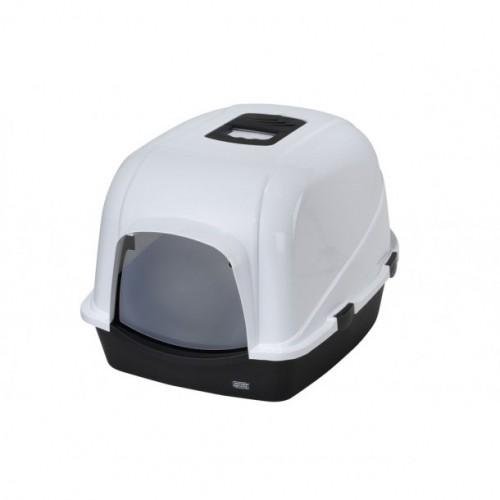 Litière & compagnie - Maison de toilette Jumbo grand modèle pour chats