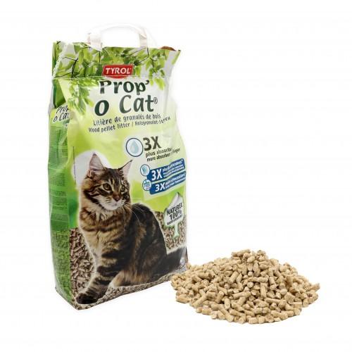 Litière végétale pour chat - Litière Prop'o Cat Tyrol