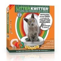 Toilettes pour chats - Kit de toilette pour chat Litter Kwitter