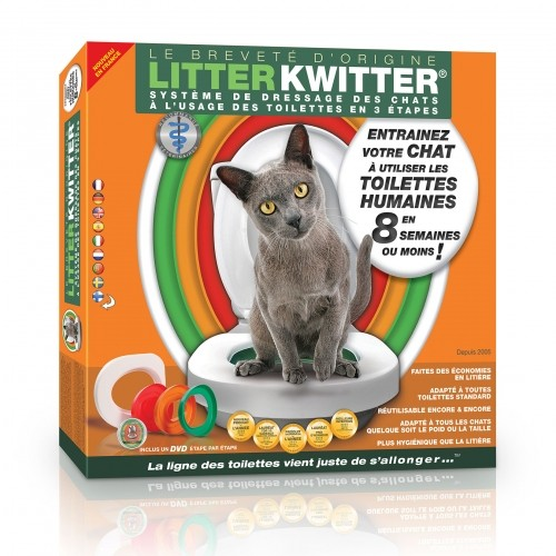 Litière & compagnie - Kit de toilette pour chat pour chats