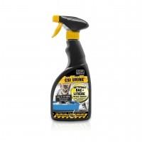 Nettoyant et désodorisant pour litière - Spray nettoyant bac à litière CSI URINE
