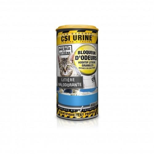 Litière & compagnie - Bloqueur d'odeurs en granulés pour chats