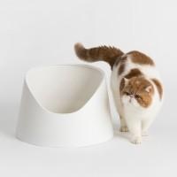 Bac à litière pour chat - Bac à litière Snow Mountain Pidan