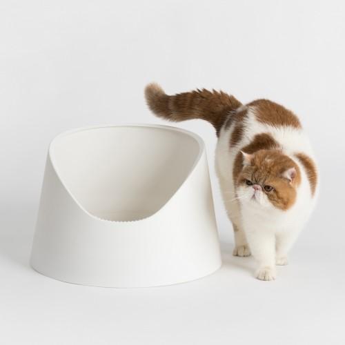 Litière & compagnie - Bac à litière Snow Mountain pour chats