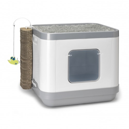 maison de toilette cube 2 en 1 maison de toilette pour. Black Bedroom Furniture Sets. Home Design Ideas