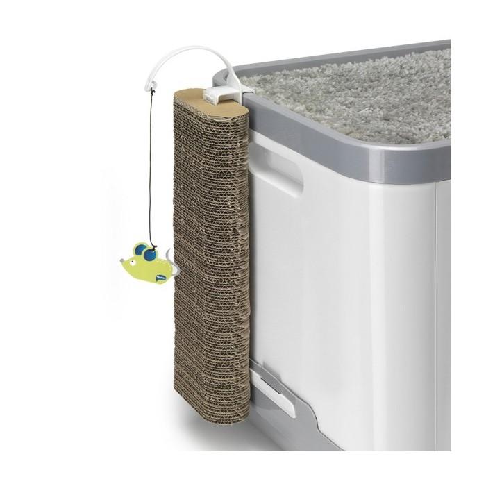 Litière & compagnie - Maison de toilette Cube 2 en 1 pour chats