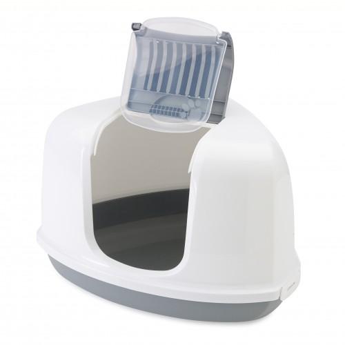 Litière & compagnie - Maison de toilette Corner pour chats