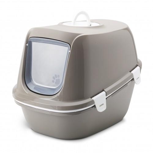 Litière & compagnie - Maison de toilette Reina Sift avec tamis pour chats