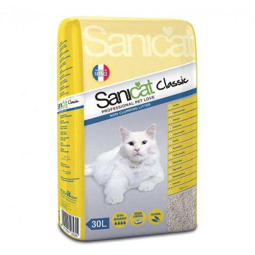 Litière & compagnie - Litière Classic Sanicat  pour chats