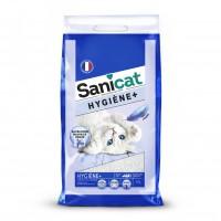 Litière minérale pour chat - Litière Hygiène + Sanicat