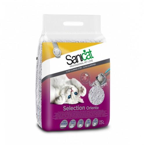 Litière & compagnie - Litière Sélection Oriente Sanicat pour chats