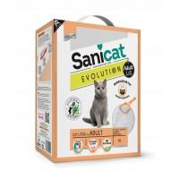 Litière minérale pour chat - Litière Evolution Adult Sanicat