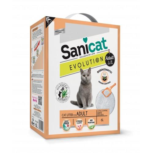 Litière & compagnie - Litière Evolution Adult Sanicat pour chats