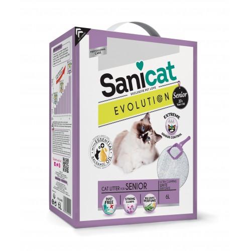 Litière & compagnie - Litière Evolution Senior Sanicat pour chats