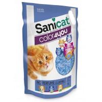 Litière silice pour chat - Litière Color4you Sanicat