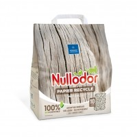 Litière papier pour chat et nac - Litière 100% naturelle papier Nullodor