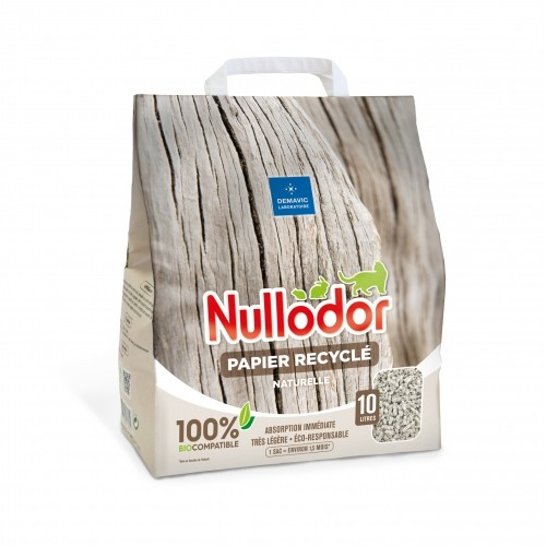 Litière & compagnie - Litière 100% naturelle papier pour chats