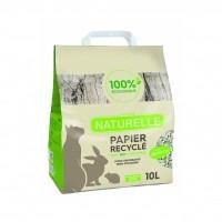 Litière papier pour chat, lapin, cobaye et oiseau - Litière Perlinette - Papier recyclé