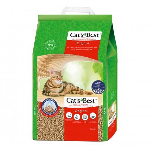 Litière & compagnie - Litière Cat's Best Original pour chats