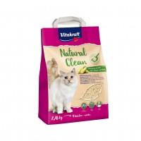 Litière végétale pour chat - Litière Natural Clean Vitakraft