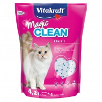Litière silice pour chat - Litière Magic Clean Vitakraft