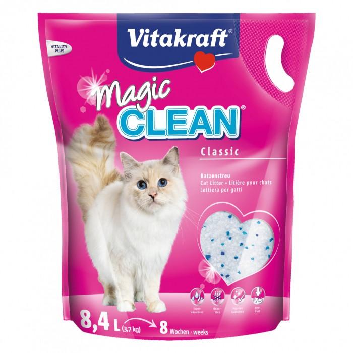 Litière & compagnie - Litière Magic Clean pour chats
