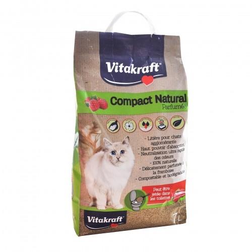 Litière & compagnie - Litière parfumée Compact Natural pour chats