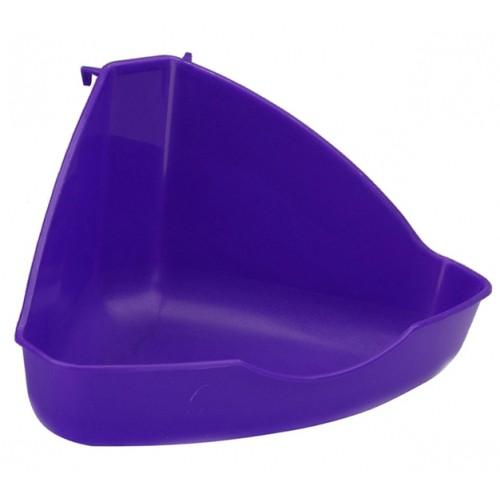 Litière pour furet - Bacs à litière d'angle pour furets