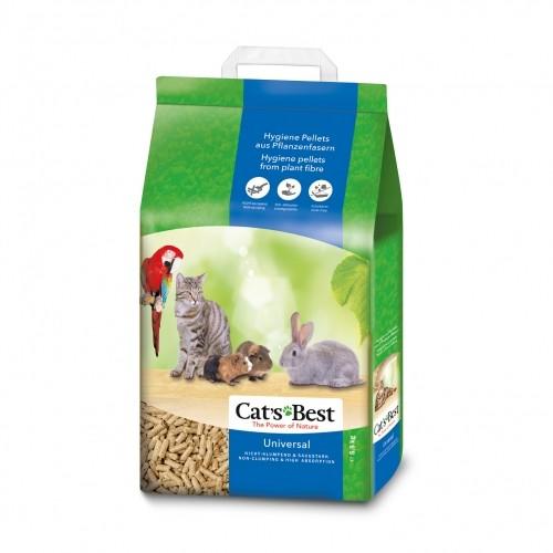 Litière pour oiseau - Litière Cat's Best Universal pour oiseaux