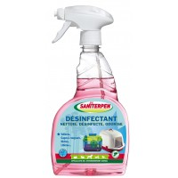 Désinfectant multi-usages - Désinfectant Sanispray 3 en 1 Saniterpen
