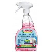 Désinfectant multi-usages - Désinfectant Sanispray 3 en 1 Saniterpen