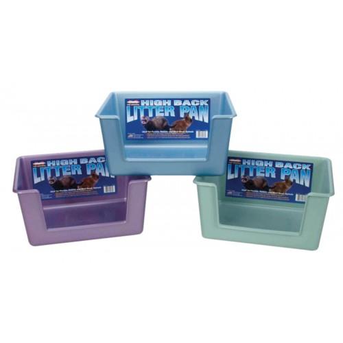 Litière pour furet - Bac à litière rectangulaire pour furets