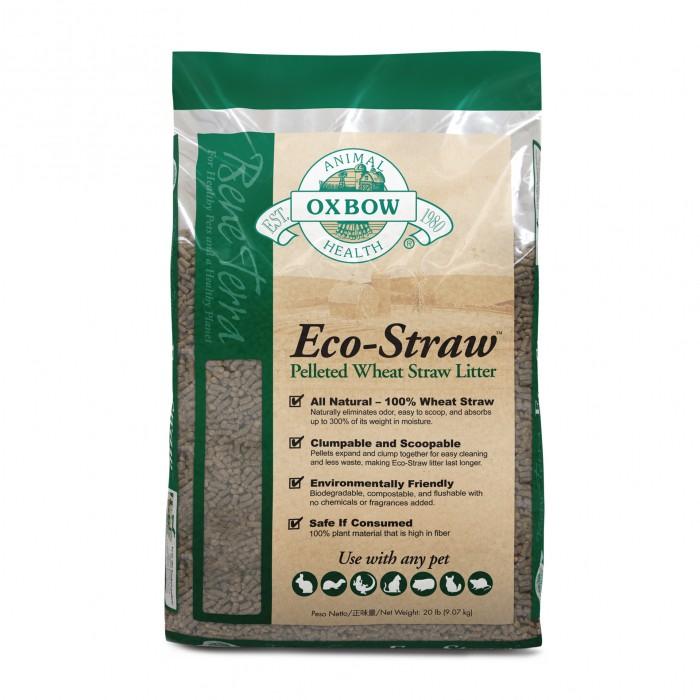 Litière pour furet - Litière Eco-Straw pour furets