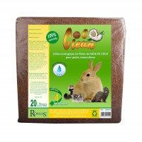 Litière pour rongeur et furet - Litière Coco Clean Rongis