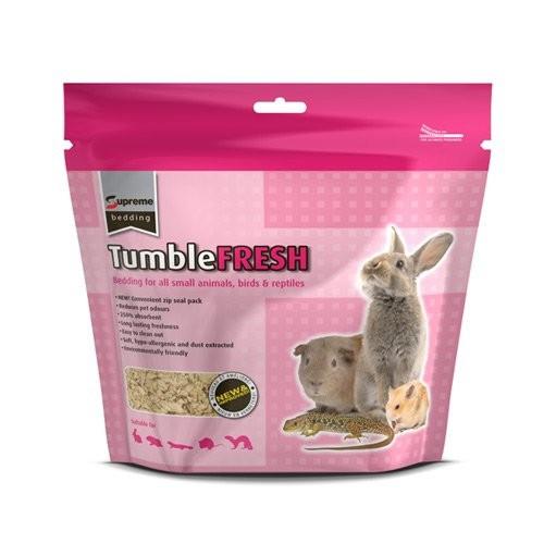 Litière et paille pour rongeur - Litière TumbleFresh en cellulose pour rongeurs
