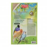 Litière pour oiseau - Feuilles sablées pour fond de cage GEC