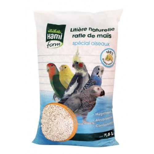 Bien-être au naturel - Litière de rafle de maïs pour oiseaux pour oiseaux