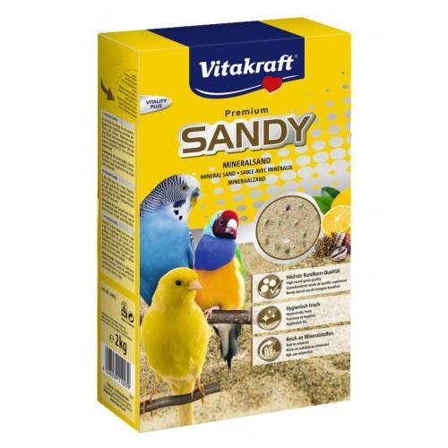 Litière pour oiseau - Sable de bain Sandy pour oiseaux
