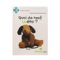 Accessoire pour chien et chat - Protège carnet de santé Wanimo