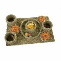 Friandise pour rongeur - Mangeoire en herbes Rosewood