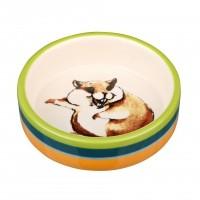 Mangeoire pour lapin et hamster - Écuelle céramique  Trixie