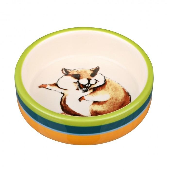 Mangeoire et biberon - Écuelle céramique  pour rongeurs