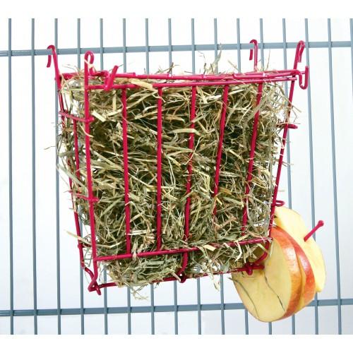 Mangeoire et biberon - Râtelier à foin Happy pour rongeurs